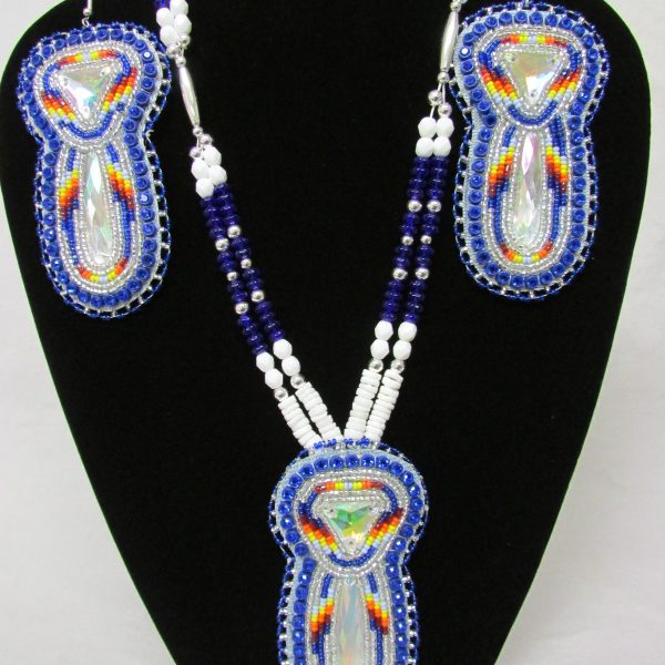 Glass and shell beads